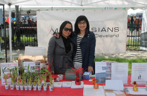 MotivAsians booth at Cleveland Asian festival