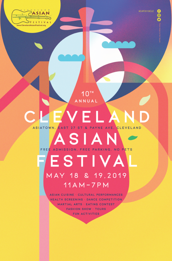 Poster Design Competition Cleveland Asian Festival